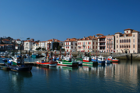 Harbour in Nouvelle-Aquitaine region