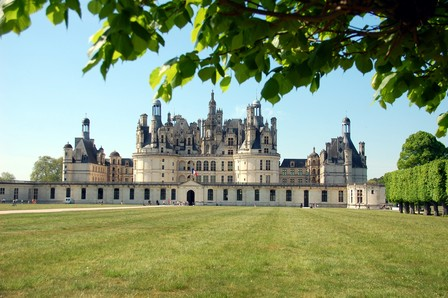 Chambord castle external view